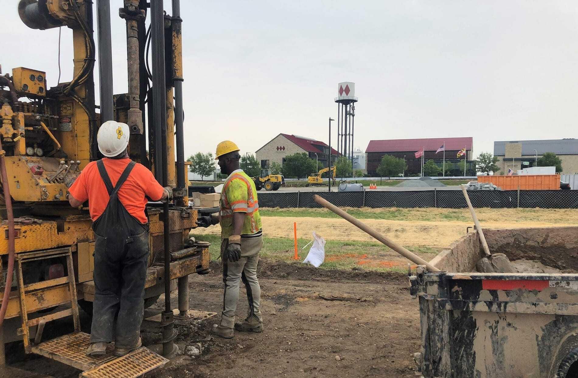 Port Covington Drilling