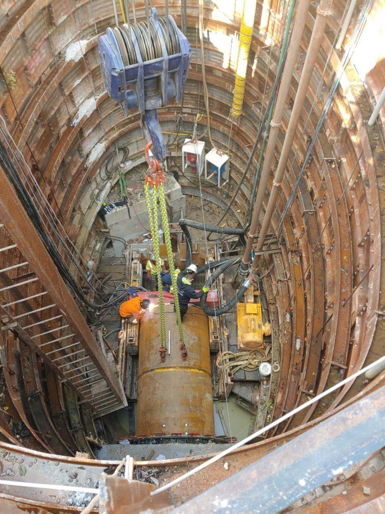 Tunneling Operations - SC-940 in Baltimore, MD