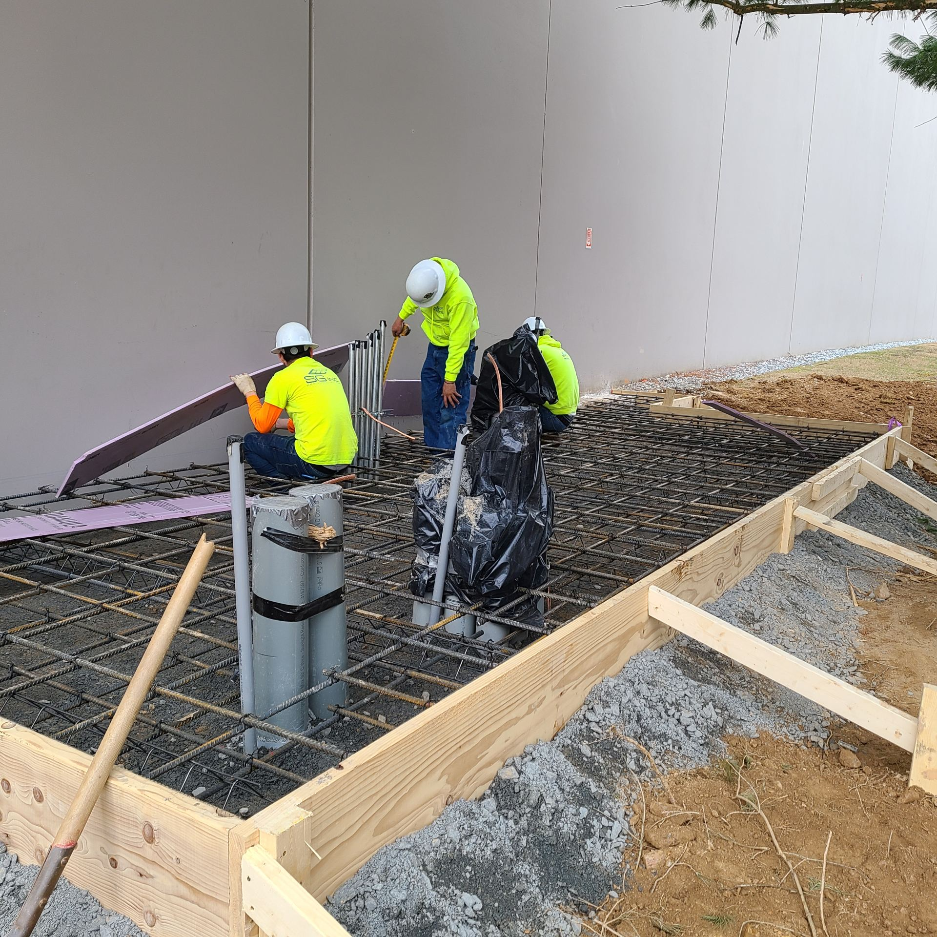 Hampstead MD Concrete Testing