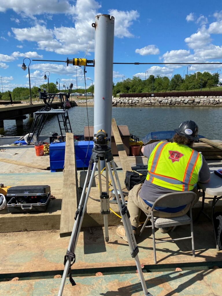 Lateral Load Testing at National Harbor Safety Pier – Fort Washington, MD