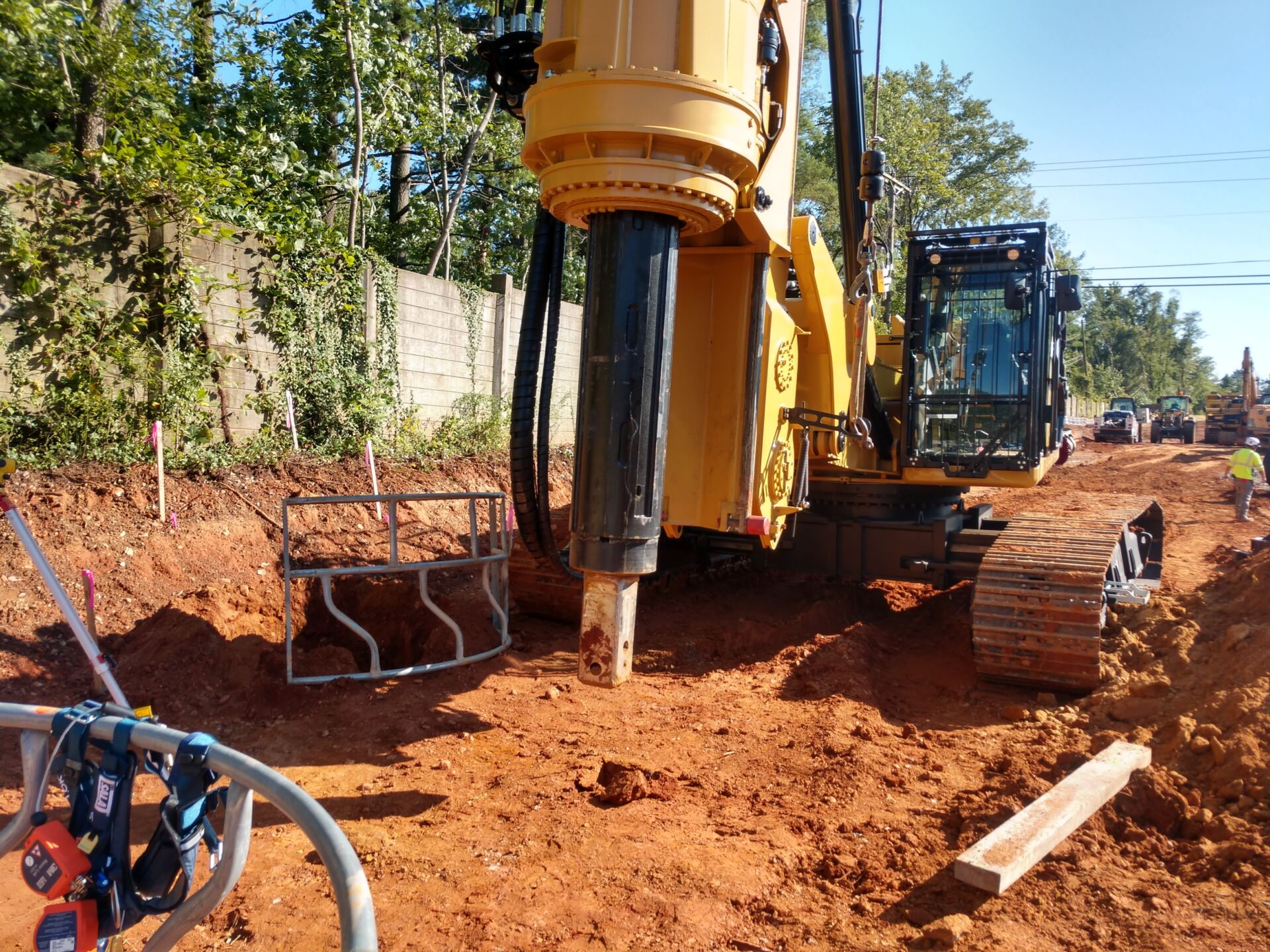 Drilled Shaft Installation - Baltimore County, MD